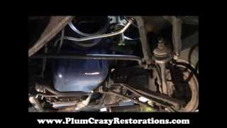 1967 Ford Mustang Bottom Side Mechanical