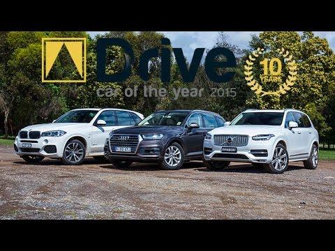Audi Q7 V Bmw X5 30d Volvo Xc90 2017 Drive Car Of The Year