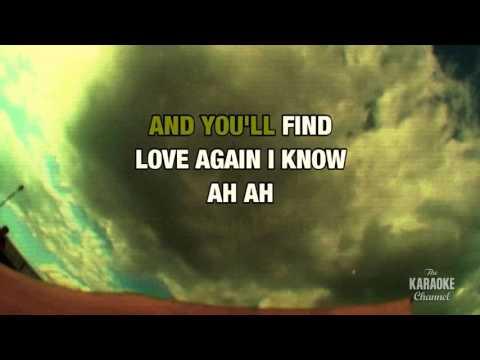 Love Song in the style of Tesla | Karaoke with Lyrics