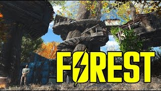AMAZING Treetop Village Fallout 4 Ultrawide 21 9