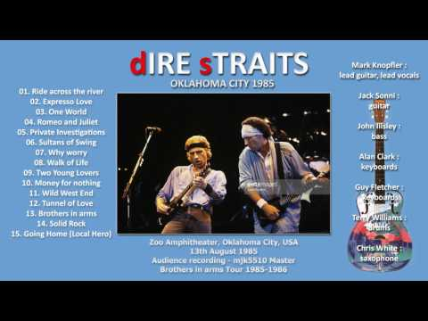 Romeo and Juliet — Dire Straits 1985 Oklahoma City LIVE [audio only]