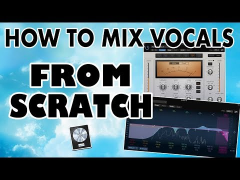 How to Mix Vocals from Scratch (EASY) - Logic Pro X