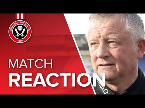 Chris Wilder's Preston reaction