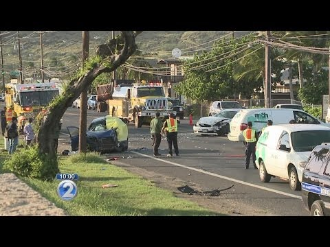 Fatal car crash in Nanakuli