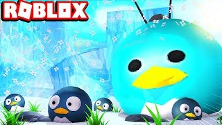 Becoming The Biggest Penguin Ever Roblox Penguin Simulator