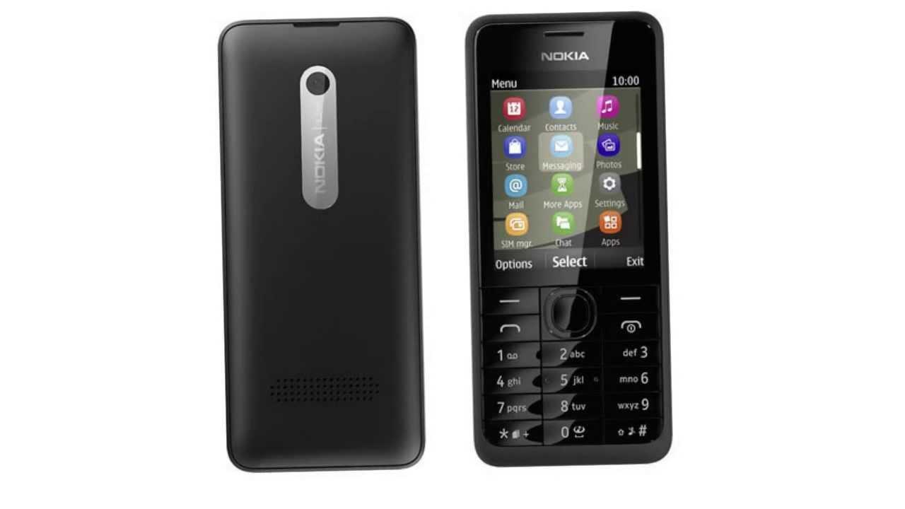 Nokia 301 Dual SIM Драйвер - YouTube