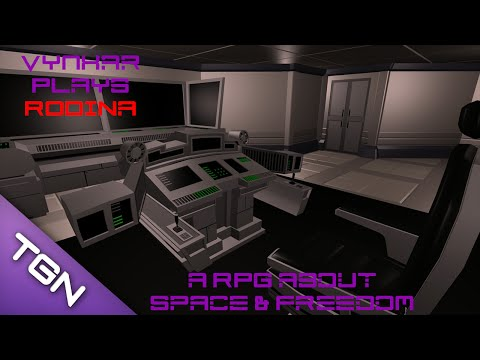 Let's play Rodina - a promising space exploration RPG