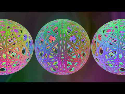 Walk On Spheres - Music by Sync24, Ambient Visual Music by Chaotic