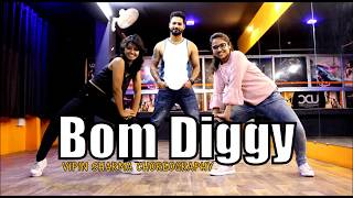 Bom Diggy Diggy Dance | Vipin Sharma Choreography | zack knight | Jasmin Walia | Unique Dance Crew