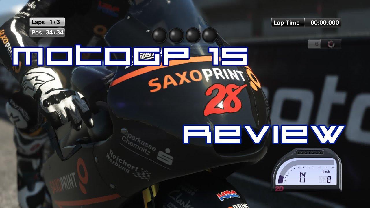 MotoGP 15 PC [RP Game Reviews] - YouTube
