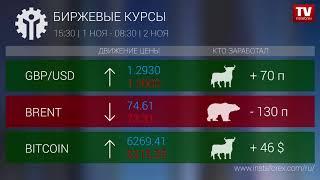 InstaForex tv news: Кто заработал на Форекс 02.11.2018 9:30