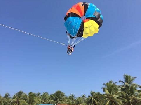 Parasailing At Malpe Beach, Udupi (Karnataka - India)