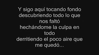 Ricardo Arjona - Tocando Fondo (Letra)