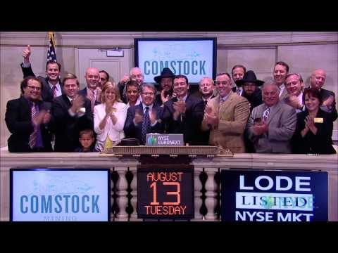 Comstock Mining Inc. Visits The NYSE