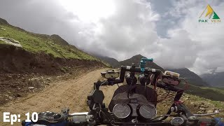 Link road patlian lake  and Ratti Gali lake | Ride Above to 13500 ft High Altitudes | Dead End Point