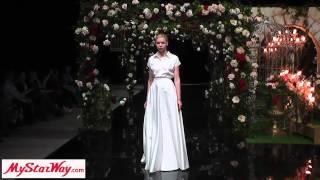 Свадебные платья. Показ коллекции нового бренда India на Moscow Bridal Weekend
