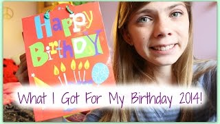 What I Got For My Birthday 2014! Thumbnail