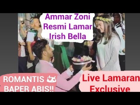 AMMAR ZONI MELAMAR IRISH BELLA 12 Januari 2019 Live Lamaran Exclusive #terbaru #live #exclusive