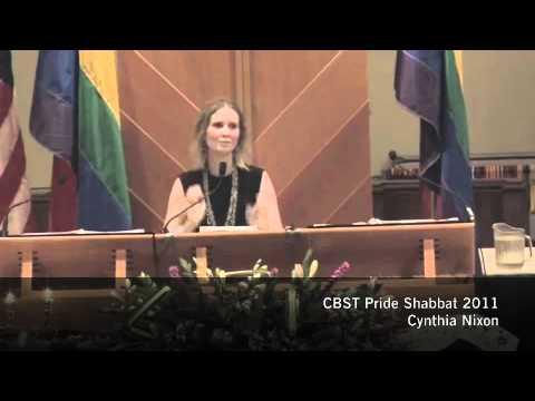 Cynthia Nixon Pride 2011