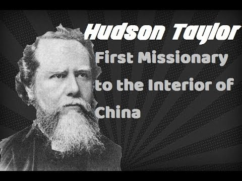 an analysis of hudson taylors life Made to evangelize tibetans living in the tibetan  established by hudson  taylor in 1865  cim reached  to analyze their age distribution at the time of  arrival.