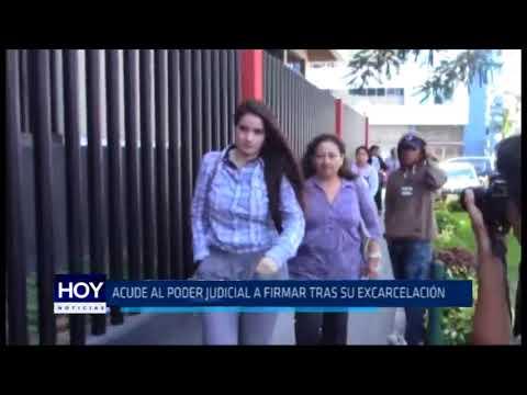 Chiclayo Del Castillo acude al Poder Judicial a firmar tras su excarcelación