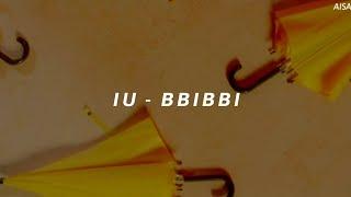 IU (아이유) 'BBIBBI (삐삐)' Easy Lyrics