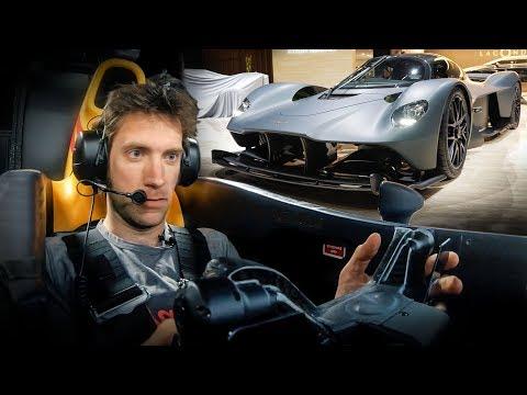 Aston Martin Valkyrie simulator drive is simply amazing