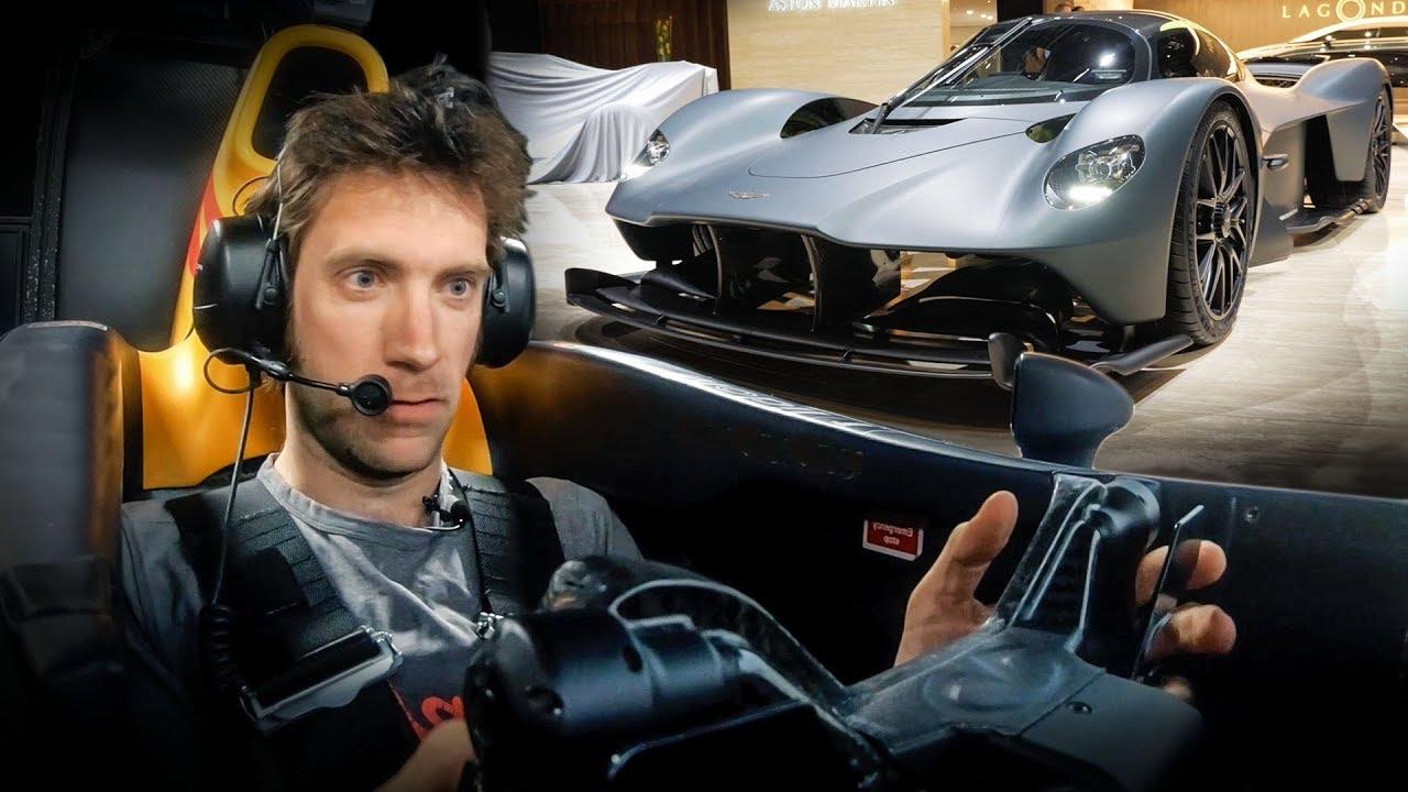 Aston Martin Valkyrie: First Sim Drive   Carfection