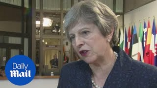 PM warns EU leaders about locking the UK out of security agreements