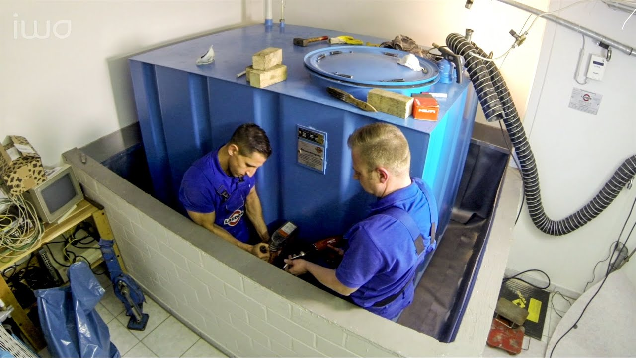 Extrem Für die doppelte Sicherheit: Sanierung eines Heizöl-Tankraums CY04