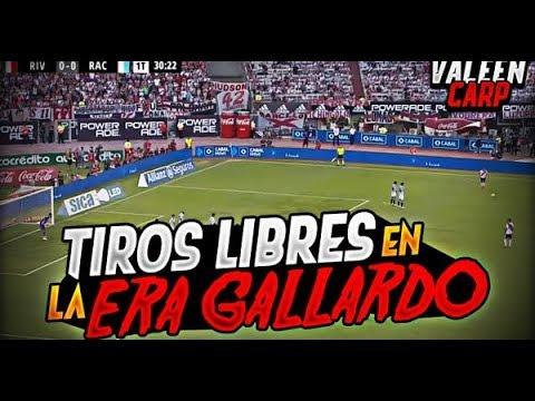 TODOS los GOLES de TIRO LIBRE en la ERA GALLARDO | 2014-2019