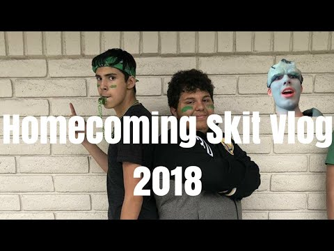Homecoming Skit Vlog (Urban Legends)