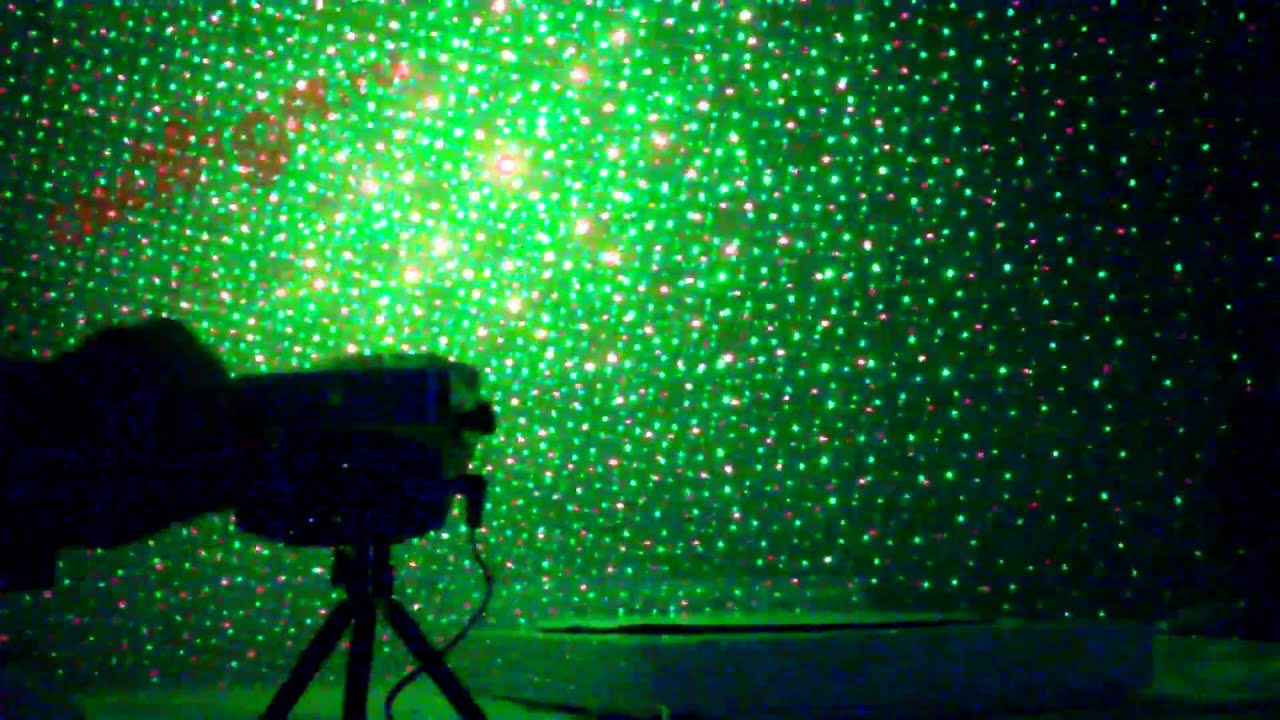 Лазерная цветомузыка Super laser