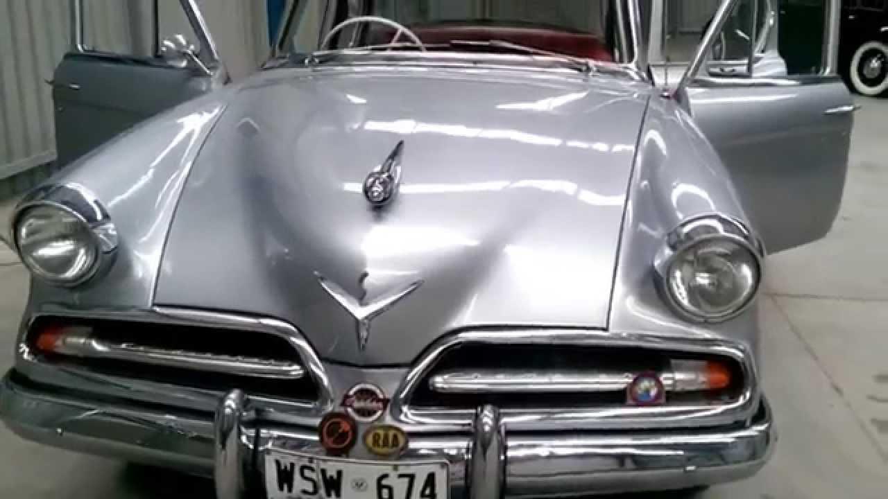 Firma Trading Classic Cars Presents 1953 Studebaker Champion - YouTube