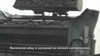DLA Ferroalloy Recovery Project, Curtis Bay, MD 2010