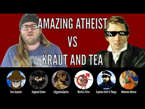 Thinking Out Loud about the Amazing Atheist with Hagbard Celine, EdgyptianSphinx, and Friends