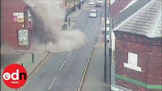 'Suspicious' shop explosion in Staffordshire under investigation