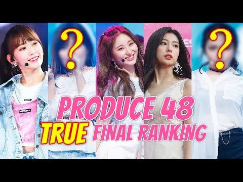 Revealed: Here is PRODUCE 48's True Final Ranking Before The Votes Were Manipulated.
