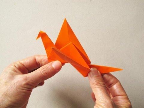 origami pajaro