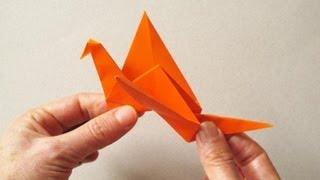 Origami Flapping Bird - Pájaro aleteador