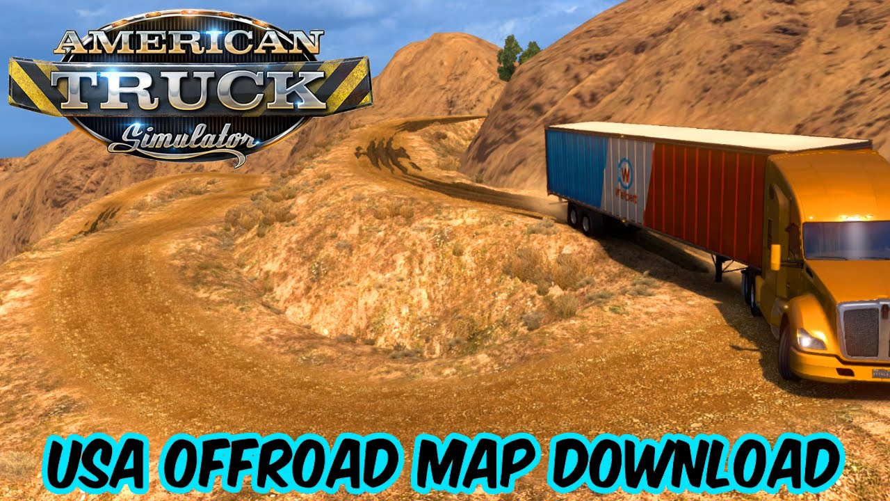 USA Offroad Map V Download American Truck Simulator YouTube - Usa map download