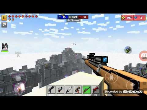 PG3D (Pixel Gun 3D) part 2: star wars fight 😂