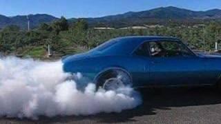 67 Firebird Burnout