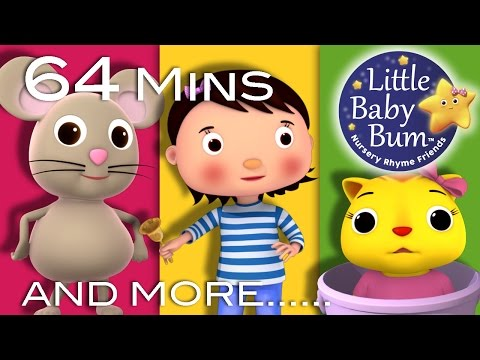 Ding Dong Bell | Plus Lots More Nursery Rhymes | 64 Minutes Compilation from LittleBabyBum!