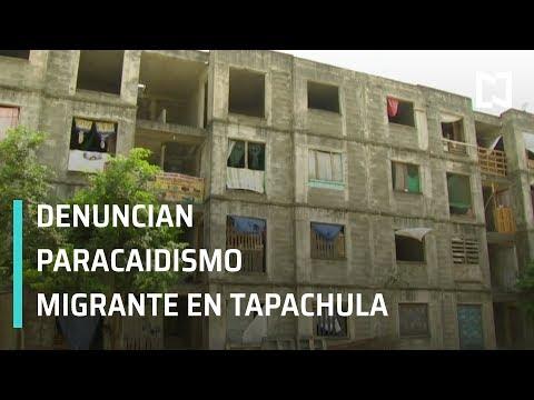 Caravana Migrante; migrantes invaden casas abandonadas en Tapachula - En Punto con Denise Maerker