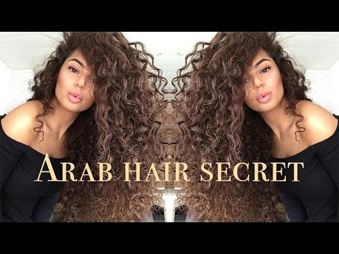 HOW TO GROW THICKER HAIR - Arab hair growth secret