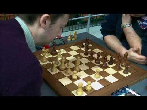 Opposite site castling in Petrov defense,  GM McShane Luke J - GM Daniel Fridman, Rapid chess