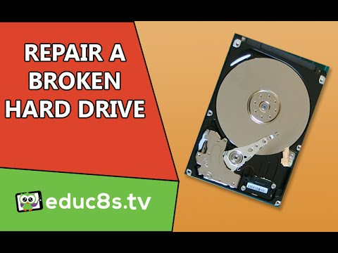 Tutorial: How to repair broken hard disk drive and recover your data. Beeping sound or clicking