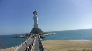 Самая высокая статуя богини Гуаньинь в мире.  Наньшань Санья Китай 11.01.19 step 214