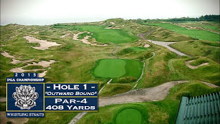 Whistling Straits: Hole 1 Video Flyover